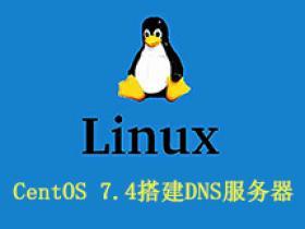 CentOS 7.4搭建DNS服务器