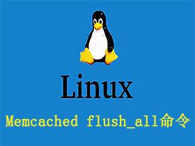 Memcached flush_all命令