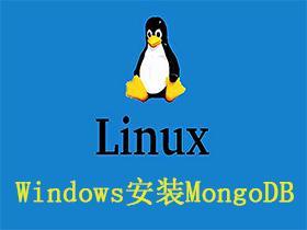 Windows安装MongoDB