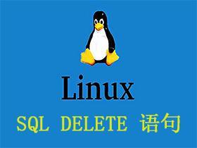 SQL DELETE 语句