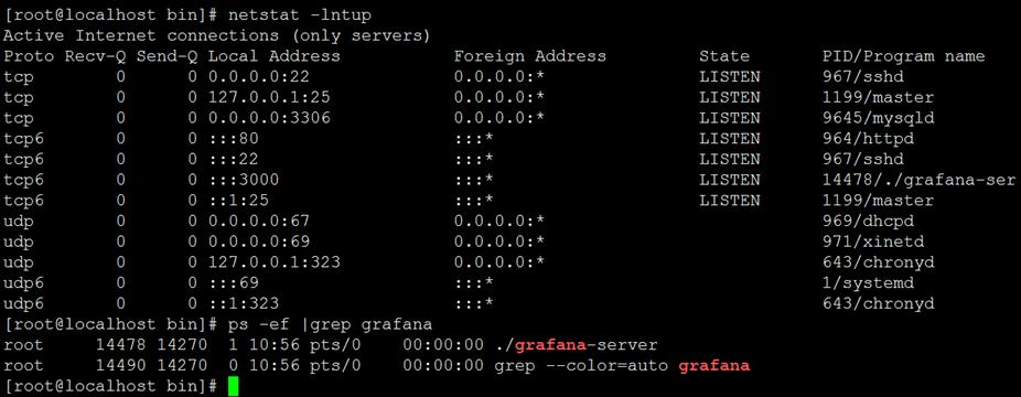 可视化工具Grafana(7.0.2)Tar包方式安装