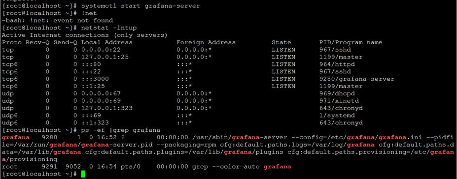可视化工具Grafana(7.0.3)RPM方式安装