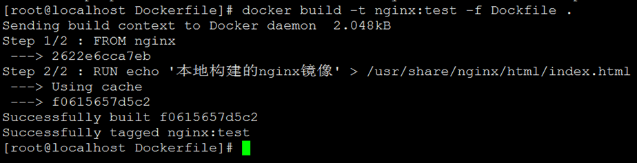 Docker Dockerfile